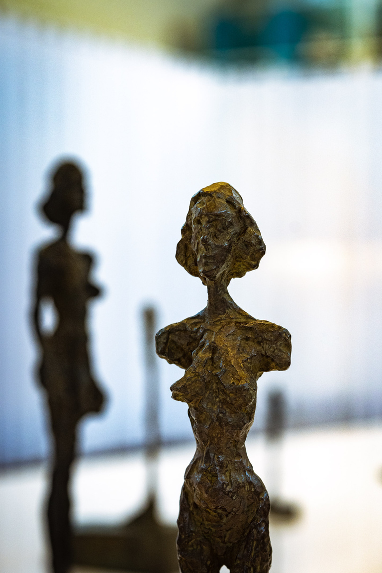 Fondation Giacometti -  vue d'exposition 4