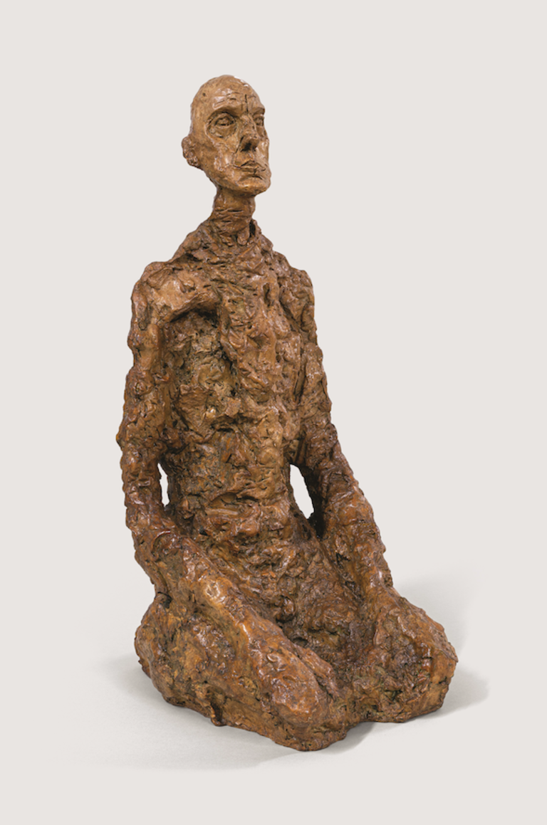 Fondation Giacometti -  Homme assis