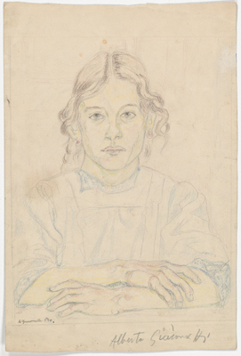 Fondation Giacometti -  Portrait of a Young Girl