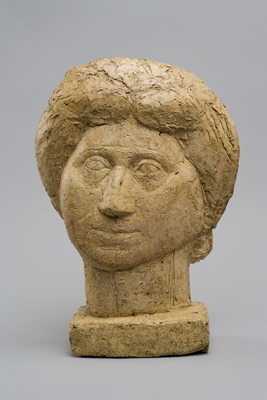 Fondation Giacometti -  [Head of the Mother, Flat]