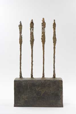 Fondation Giacometti -  Four Women on a Base