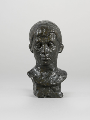 Fondation Giacometti -  [Head of a Student from Schiers]