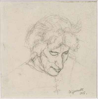 Fondation Giacometti -  Portrait of the artist's mother