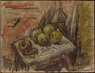 Fondation Giacometti -  Apples [Still-life]