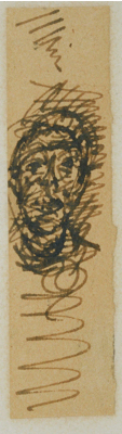 Fondation Giacometti -  [Head of a man]